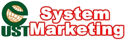 logo UST System Marketing 紅透